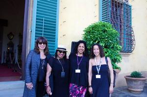 Ellen Toscano, Deborah Willis, unidentified, Cheryl Finley. Photo: Riccardo Cavallari/courtesy of New York University