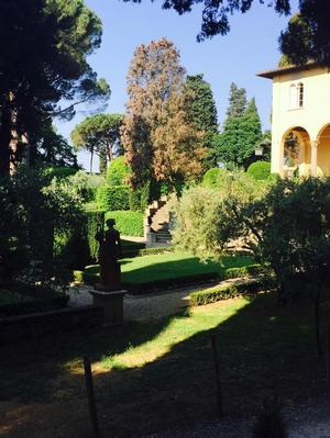 The grounds of NYU's Villa La Pietra. Photo: Michelle-Renee Perkins