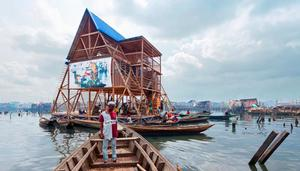 Architect Kunlé Adeyemi's Makoko (Nigeria) floating school