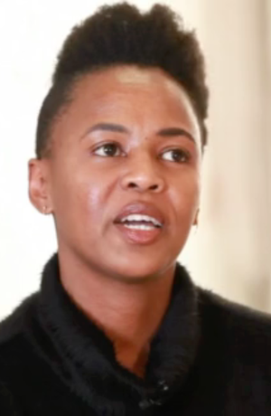 Wangechi Mutu discusses the Africa's Out cause on the organization's video.