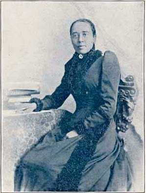 Anna J. Cooper, photograph from her book, A Voice from the South