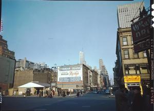 Day view. William P. Gottlieb, 52nd Street, ca. 1948. Library of Congress Collection
