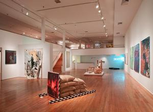 A view of the main gallery.  Fore (exhibition view). The Studio Museum in Harlem, November 11, 2012–March 10, 2013. Photo: Adam Reich