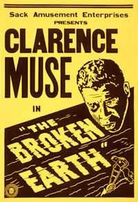 Theatrical poster of The Broken Earth (1936)