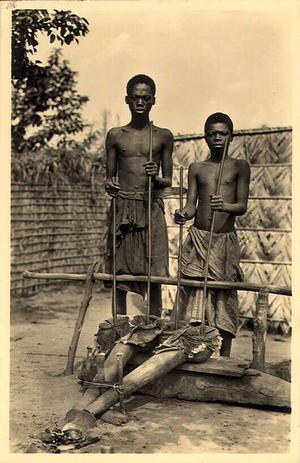 Young Kuba blacksmiths. Photo: Federation of the Free States of Africa