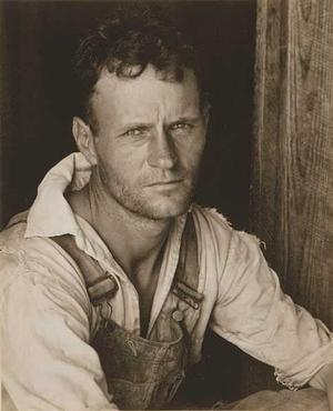 Walker Evans, Sharecropper, Alabama, 1930s. (FSA)