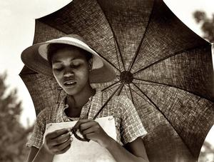 Dorothea Lange, Louisiana Negress (sic), July 1937