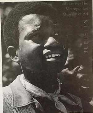 January 1969 issue of the Metropolitan Museum of Art bulletin, a special issue on African American art and urban life