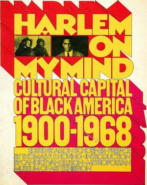 Cover of Random House book published in association with the Harlem on Mind exhibition