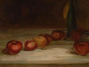 Henry O. Tanner, Still Life with Apples, oil, 1890s.  Georgia Museum of Art Collection