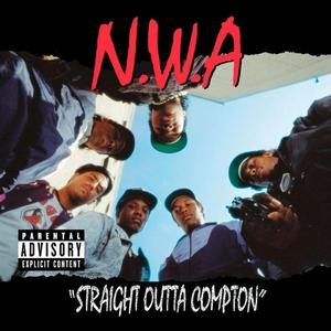 1988 Straight Outta Compton album cover