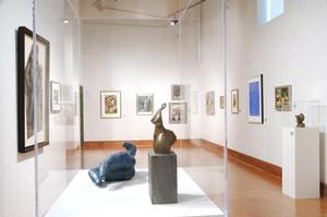 Installation view,  The Sandra and Lloyd Baccus Collection at the David C. Driskell Center