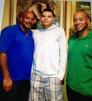 William C. Robinson and his sons Christian D. Robinson and William C. Robinson 111