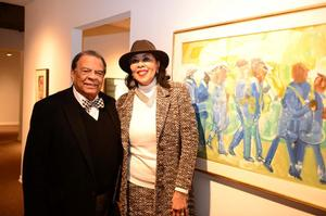 Andrew Young and his wife, Carolyn Young