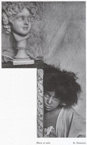 Robert Demachy, Blanc et noir, 1904 from La Revue de Photographie. Courtesy of Julien Faure-Conorton