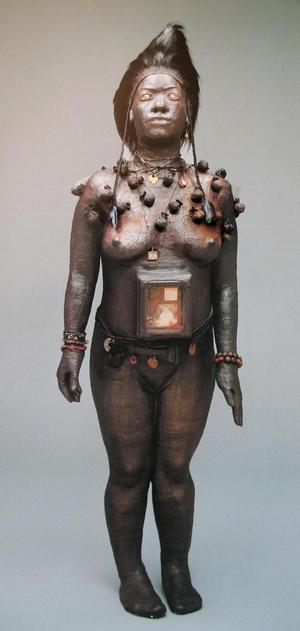 Renée Stout, Fetish #2, 1988, mixed media, sculpture, 63