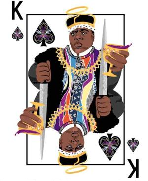 Khia Jackson, Biggie Smalls card from the 1998 Deck