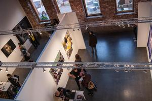 Interior of 1:54 Art Fair. Photo: Anders  Jones