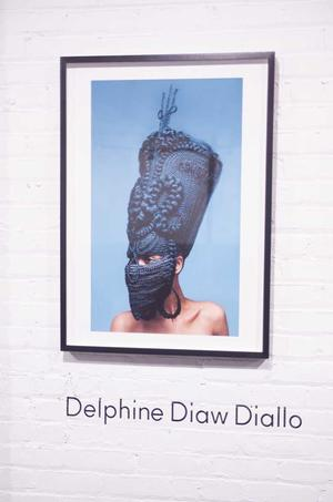 Delphine Diaw-Diallo, New African Photography show.  Photo: Anders  Jones