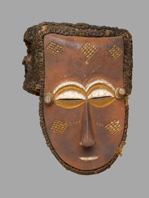 Unidentified Kuba artist. Mask, late 19th or early 20th century, Brooklyn Museum