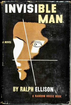 Dust jacket from first edition of Invisible Man