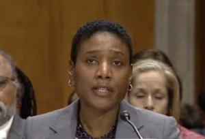 Cassandra Butts during the 2014 Senate hearing for her nomination to be ambassador to the Bahamas