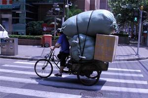 Basic transport vehicle in China. Photo: Terry Dixon