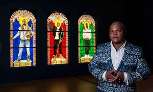 Kehinde Wiley at the Virginia Museum of Fine Art, June 2016. Photo: VMFA
