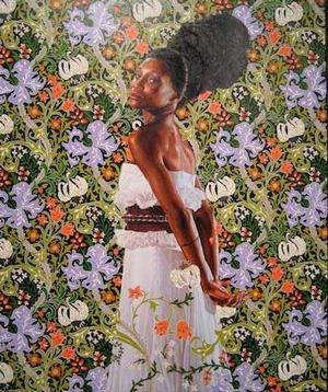 Kehinde Wiley, Mrs. Waldorf Astor, 2012, Sean Kelly Gallery, New York