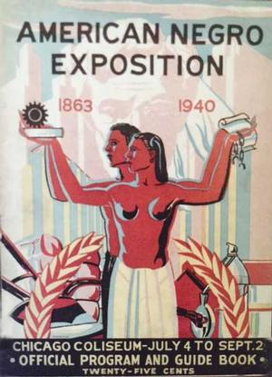 American Negro Exposition program and guidebook
