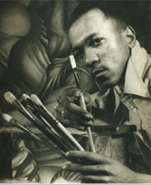 Charles White in Chicago, c. 1939-40